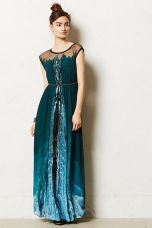 Anthropologie. Icefall Maxi Dress.