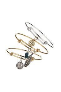 TopShop. Three Bangle Pack Bracelets.