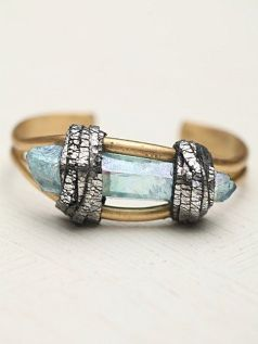Free People. Crystal Flame Cuff.