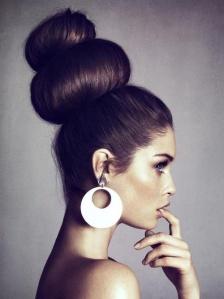 bun hair 1