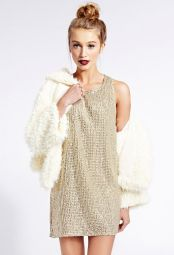Forever 21. Sequined Statement Shift Dress.