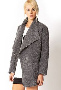 forever 21 wool grey