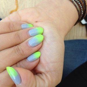 ombre nail