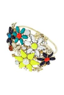 TopShop. Rhinestone Flower Bloom Bangle.