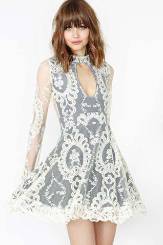 Nasty Gal. For Love & Lemons Anna Lace Dress $248.00 http://www.nastygal.com/clothes-dresses/anna-lace-dress