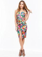 Go Jane. Blossoming Sweetheart Strapless Dress. $39.00