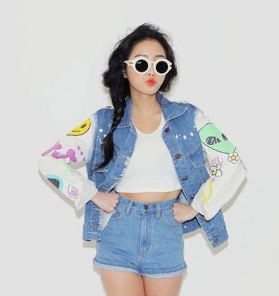 Style Nanda. http://en.stylenanda.com/product/Vintage-Smiley-Denim-Jacket/SFSELFAA0032030/?main_cate_no=AD000000&display_group=1