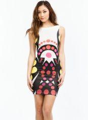 Go Jane. Around In Circles Scoop Back Dress $27.00 http://www.gojane.com/95011.html