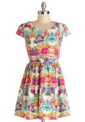 ModCloth. Pixelated Petals Dress. http://www.modcloth.com/shop/dresses/pixelated-petals-dress