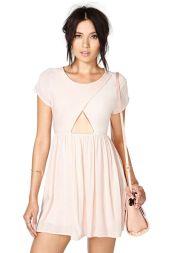 Nasty Gal. Cross Your Heart Dress $48.00 http://www.nastygal.com/clothes-dresses/cross-your-heart-dress
