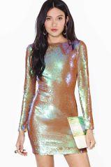 Nasty Gal. Dress The Population Lola Sequin Dress - Iridescent $138.00 http://www.nastygal.com/clothes-dresses/dress-the-population-lola-sequin-dress-iridescent