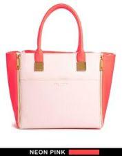 Asos. Ted Baker Leyah Crosshatch Shopper Bag. $318.04 http://us.asos.com/Ted-Baker-Leyah-Crosshatch-Shopper-Bag/12ky75/?iid=3969393&cid=8730&sh=0&pge=1&pgesize=204&sort=-1&clr=Pink&mporgp=L1RlZC1CYWtlci9UZWQtQmFrZXItTGV5YWgtQ3Jvc3NoYXRjaC1TaG9wcGVyLUJhZy9Qcm9kLw..