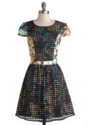 ModCloth by MINPINK. Garden Screening Dress. $94.99 http://www.modcloth.com/shop/dresses/garden-screening-dress