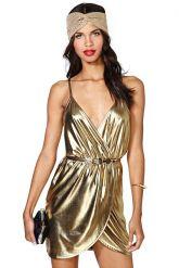 Nasty Gal Gold Rush Dress $78.00 http://www.nastygal.com/clothes-dresses/nasty-gal-gold-rush-dress
