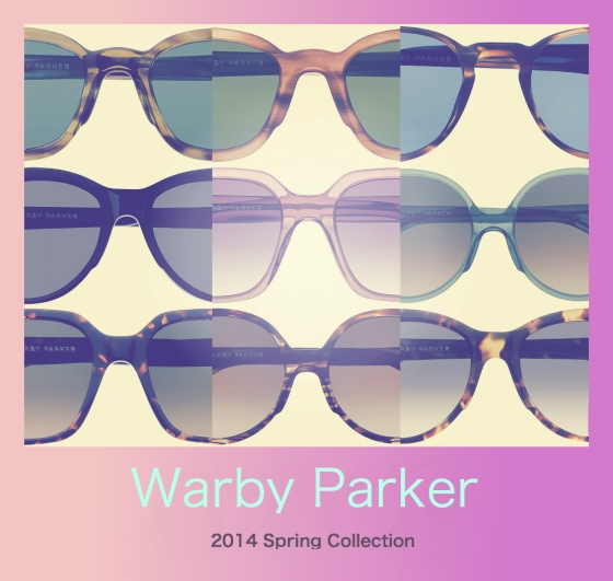 Warby Parker 2014 Spring Collection