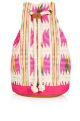 Topshop. Flouro Woven Duffle Backpack. $15 http://us.topshop.com/en/tsus/product/sale-offers-70842/sale-70857/extra-50-off-shoes-accessories-2750090/flouro-woven-duffle-backpack-2197846?refinements=category~%5b1637007%7c397549%5d&bi=1&ps=20